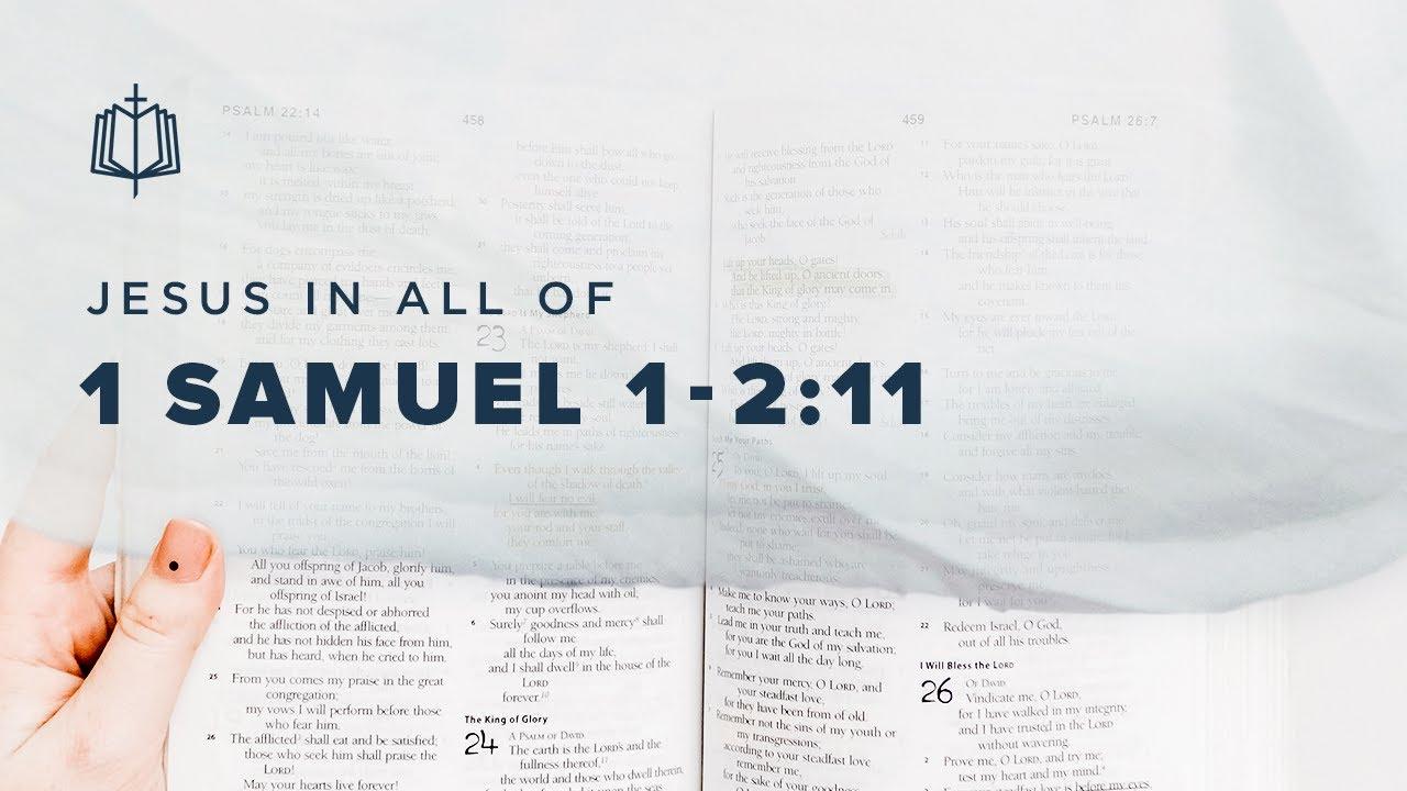 HANNAH'S SONG | Bible Study | 1 Samuel 1-2:11