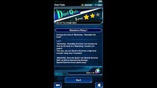 Yugioh Duel Links - Duel Quiz Level 2 : Blackstrom Rising 1