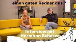 Interview Special mit Hermann Scherer - Was macht wirklich einen guten Sprecher aus?