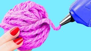 أفضل 9 أفكار لمشغولات من المخلفات! ديكور أوضة الربيع