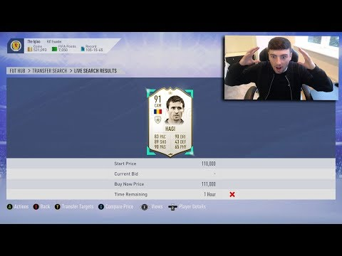 FIFA 19  *ICON SNIPE* I MADE 250K PROFIT  SNIPING REACTIONS EP7