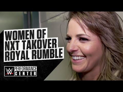 CANDICE LeRAE And The WOMEN Of NXT Take Over The Royal Rumble