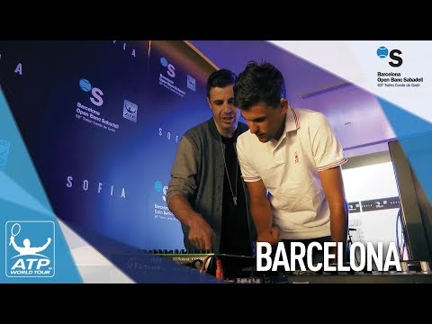 Thiem Helps DJ At The 2018 Barcelona Players' Party