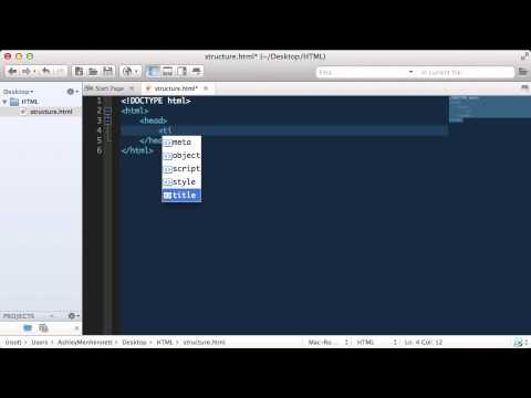 Basic Structure Of HTML  |  HTML Tutorials