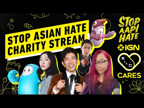 Playing Fall Guys to Stop AAPI Hate! - #StopAsianHateStream