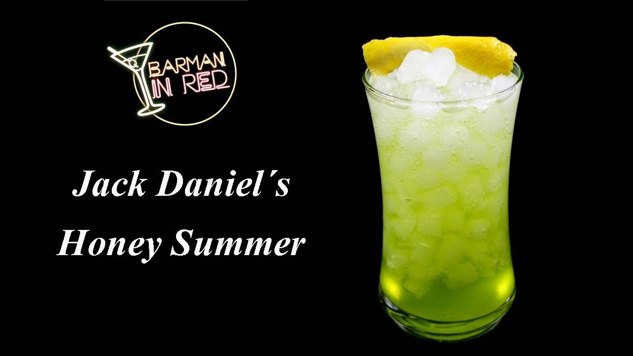 Cómo hacer el coctel JACK DANIELS HONEY SUMMER - YouTube