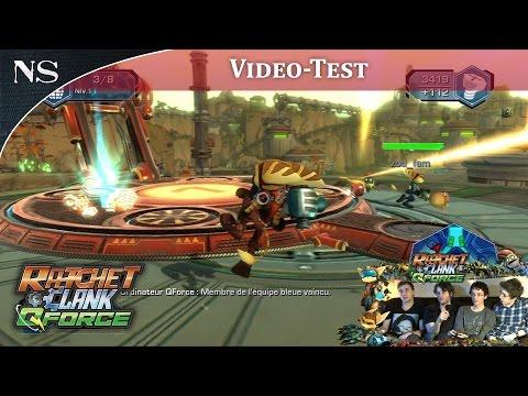 Ratchet & Clank : QForce | Vidéo-Test PS3 (NAYSHOW)