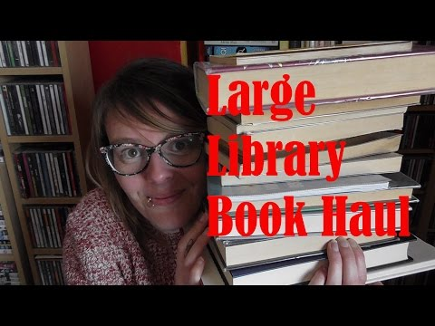 Large Library Book Haul