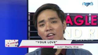 MACKY ALCA NET25 LETTERS AND MUSIC Guesting - EAGLE ROCK AND RHYTHM