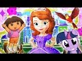 Learn Puzzles ! Sofia the First ! Hello Kitty ! My Little Pony ! Dora the Explorer ! MPL !