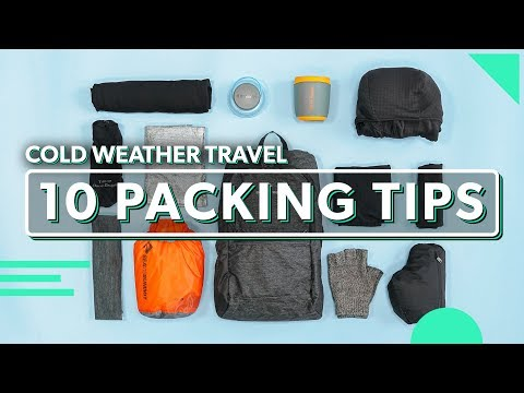10 Minimalist Packing Tips For Cold Weather Travel | How To Pack Light & Keep Warm (Fall & Winter)