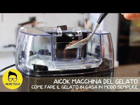Aicok macchina del gelato come fare il gelato in casa - Macchina per il gelato in casa ...