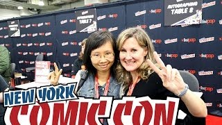 New York Comc Con 2013 Vlog - Cosplay, Veronica Taylor, Figures