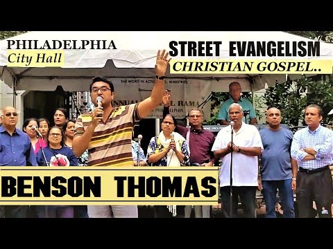 City Mission 2018 & Street Evangelism | Philadelphia City | Benson Thomas