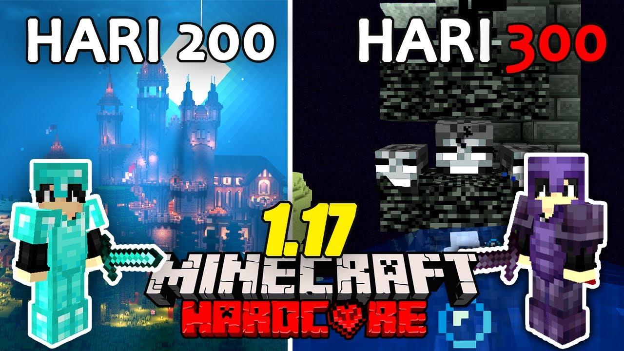 Download 300 Hari Minecraft 1.17 Hardcore Tapi Aku TRANSFORMASI DESA Jadi ISTANA