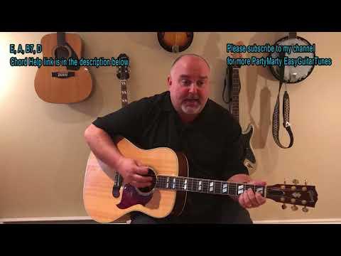 How to Play Surfin' Safari - The Beachboys (cover) - Easy 4 Chord Tune
