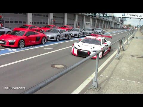 Audi Driving Experience Audi R8 LMS and TT LMS Ringtaxi at Nürburgring / BKSupercars