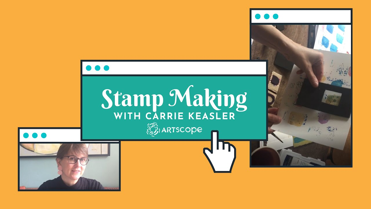 Stamp Making with Carrie Keasler