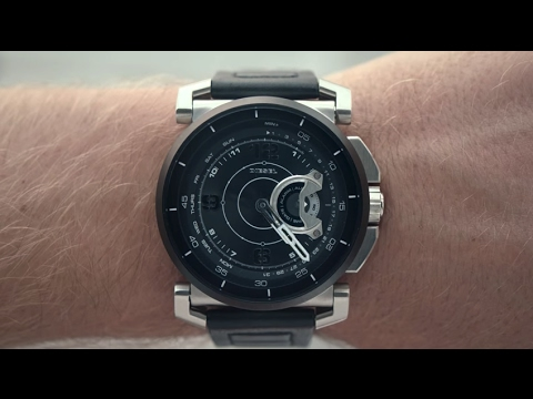 diesel on hybrid smartwatch activity tracker youtube. Black Bedroom Furniture Sets. Home Design Ideas