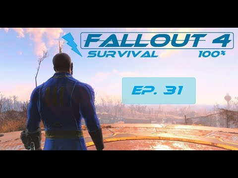 Fallout 4 Survival 100% - Ep. 31 - Back Street Apparel, Boston Library, Copley station