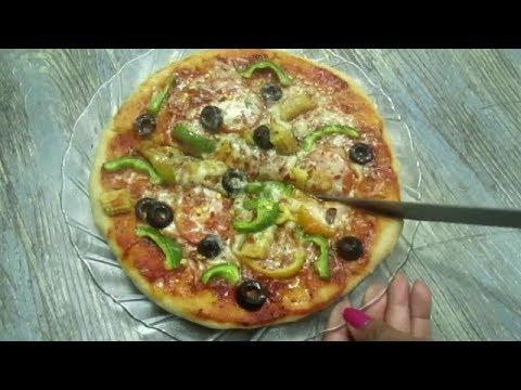 How to make home made Italian Pizza Easy Recipe