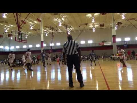 8th Grade Temple Terrace Thunder vs 365 Ballerz 2-25-17