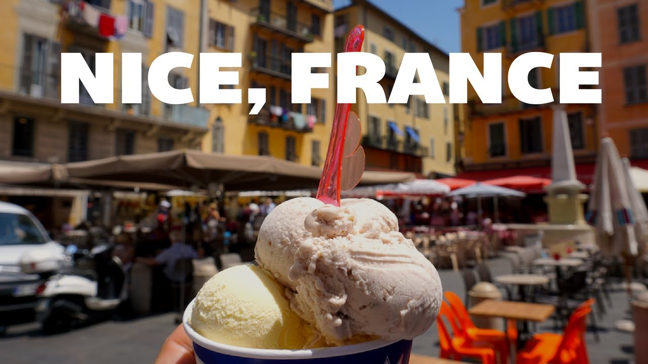 getting ice cream in nice france things to do in nice france youtube. Black Bedroom Furniture Sets. Home Design Ideas