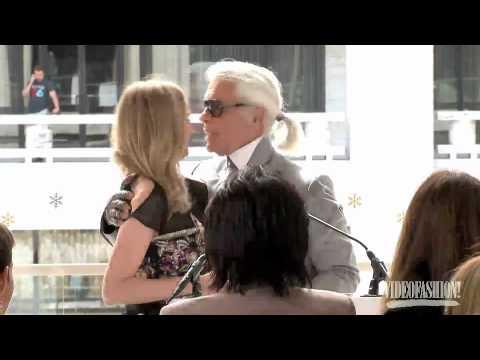 Karl Lagerfeld Fashion Visionary Award - Videofashion