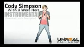 Wish U Were Here - Cody Simpson InstrumentalKaraoke Remake FREE MP3