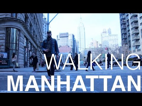 The Manhattan Walk: From the Bronx to Battery Park on Broadway