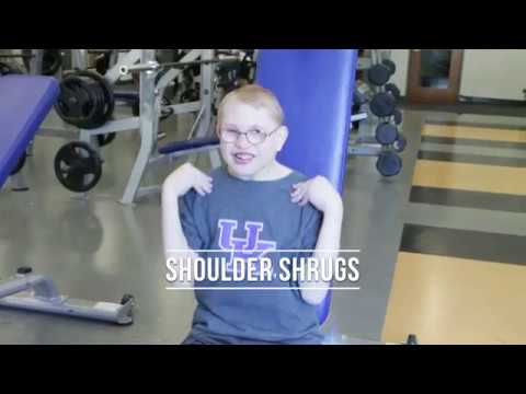 CHEER Exercises- Shoulder Shrugs