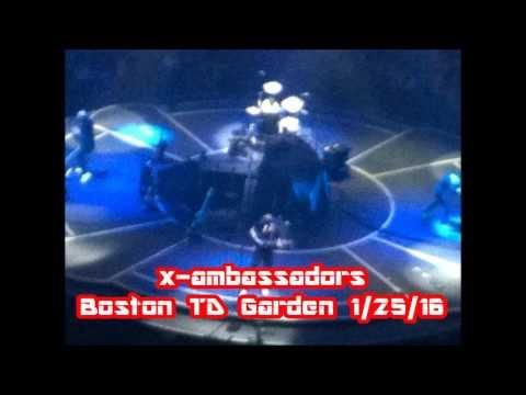 X - Ambassadors concert 1/25/ 2016 Boston TD Garden