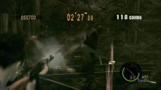 Resident Evil 5 Mercenaries Reunion SOLO The Mines 鉱山 769k (Excella) part(2/2) PS3