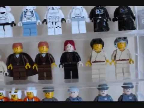 Lego STAR WARS Minifigures collection. Some rare figures here! - YouTube