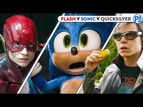 Sonic Vs Flash Vs Quicksilver - Who Is The Fastest? - PJ Explained