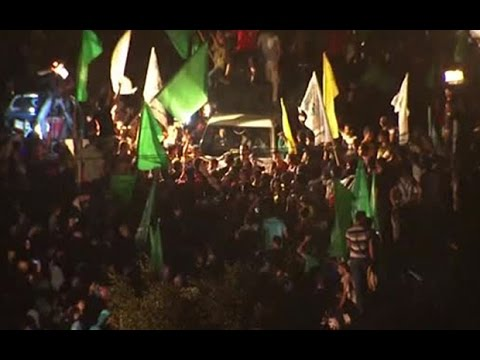 Celebrations erupt as Gaza ceasefire reached