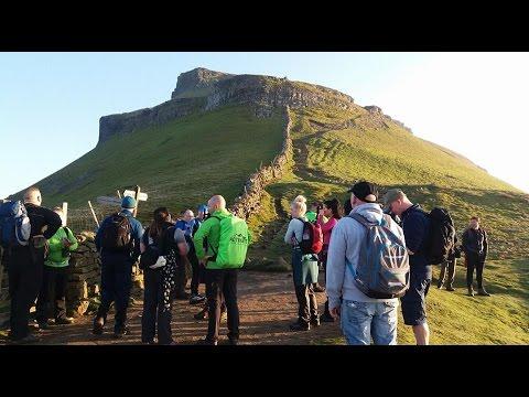 Yorkshire 3 Peaks challenge April 2017