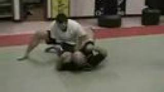 Guard Pass With Knee Across To Get Side Control