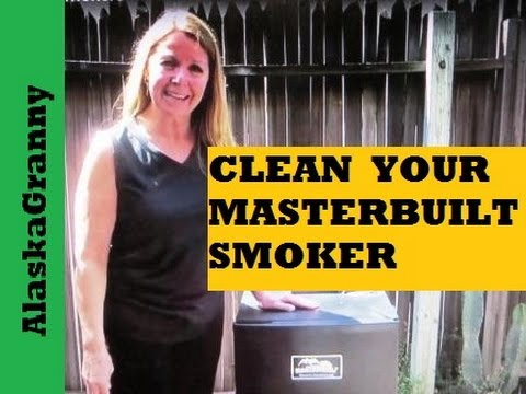 How To Clean Masterbuilt Electric Smokers Youtube