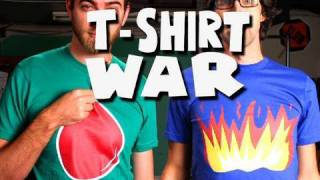 T-SHIRT WAR!! (stop-motion) - Rhett & Link thumbnail