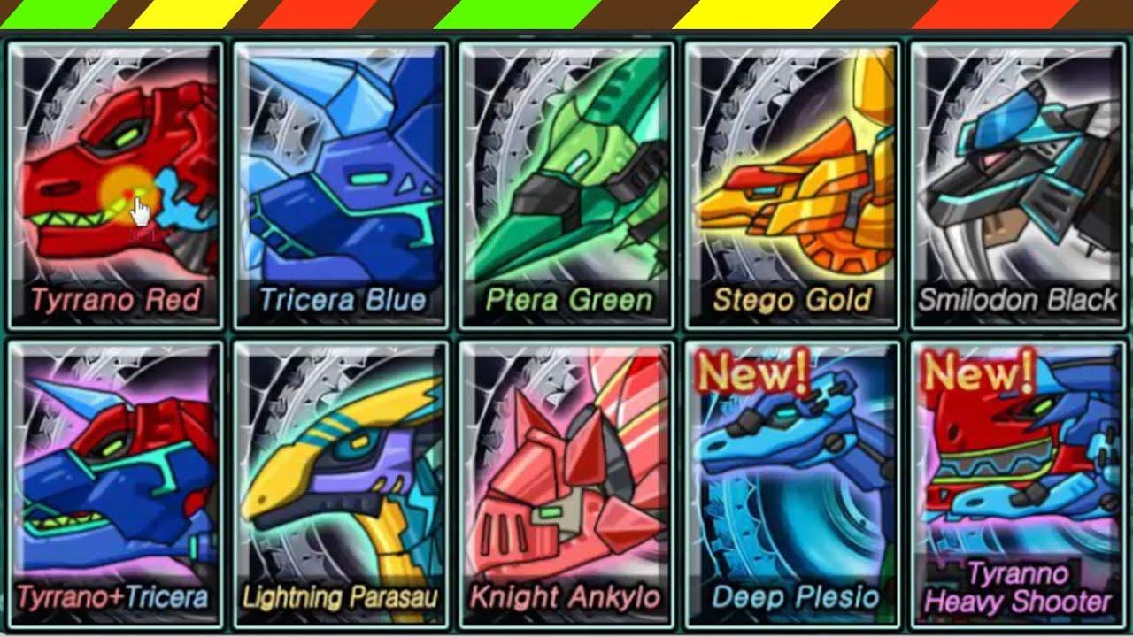 Dino Robot Dino Corps 01 – Lắp ráp robot Khủng long chiến đấu 1