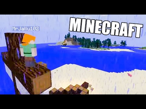 Pelastakaa merimies Jallu! | FTW Minecraft-seikkailu (Hiihtolomastriimi)