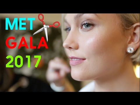Getting ready for the Met Gala 2017 | Karlie Kloss