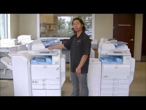 Copier MP5000 Intro - Service Sales Rental Lease Orange County