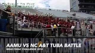 AAMU vs NCAT - Tuba Battle - MEAC/SWAC 2014