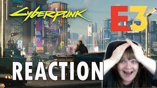 Cyberpunk 2077 New Trailer REACTION (Microsoft E3 2018 Conference)