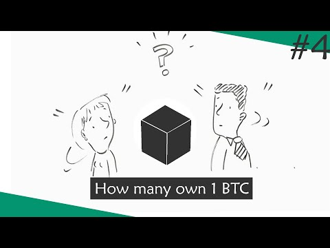 How Many People Own 1 Bitcoin & Why 0.2 BTC Make You Be Part Of 1 % Population  | #onChain