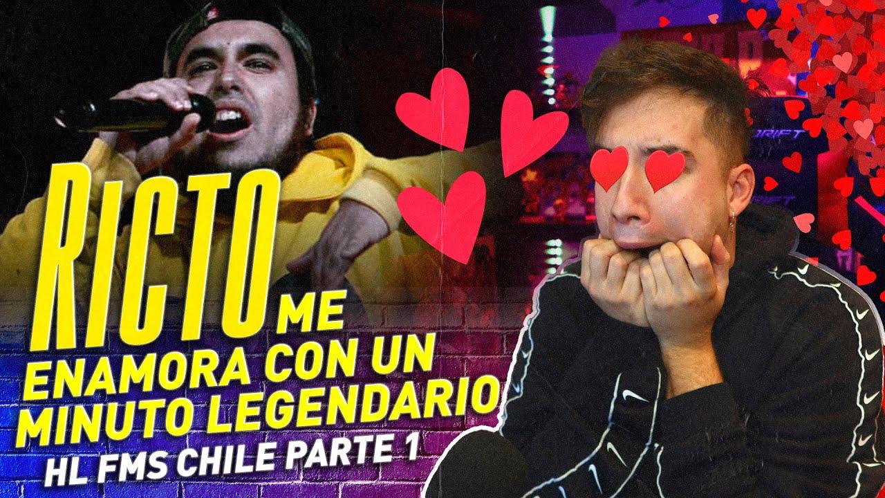 ¿EL MEJOR MINUTO DE RICTO? MEJORES RIMAS FMS CHILE J03 PARTE 1