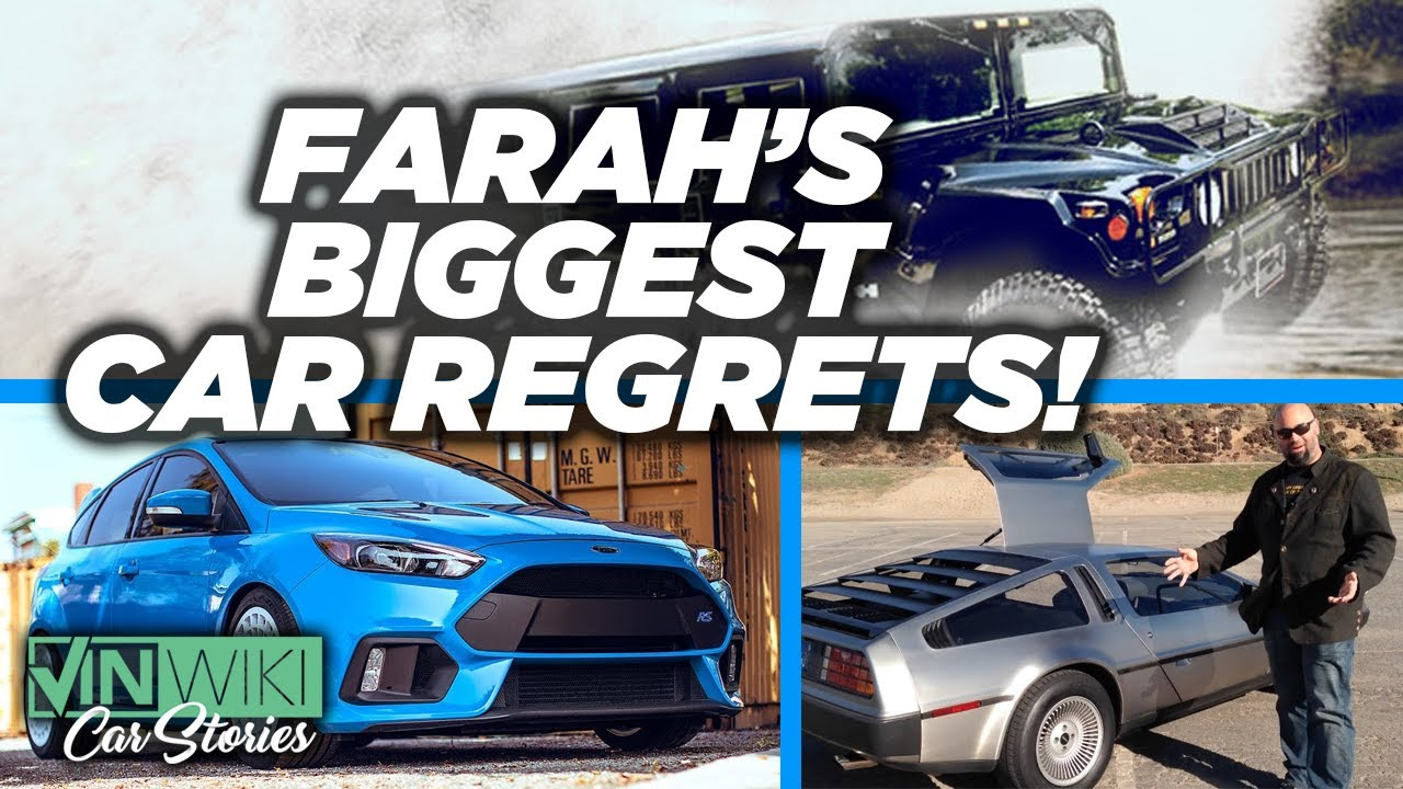 Matt Farah's biggest car buying REGRETS!