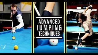 HOW TO JUMP iฑ POOL- Advanced Billiard Tutorial #5
